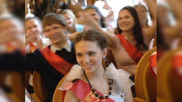 'Último timbre': despedida de la escuela secundaria en Rusia