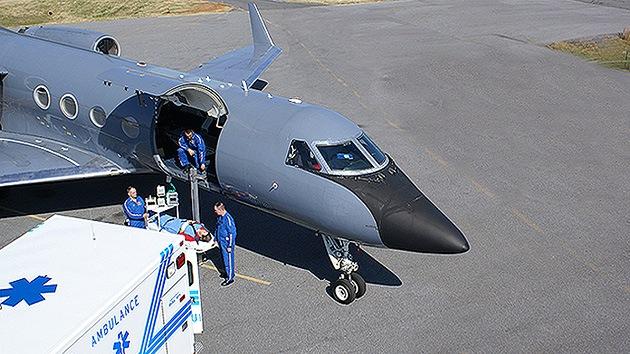 Fotos: Cómo es el avión que transportará a enfermos de ébola de África a EE.UU.