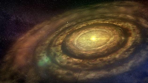 Descubren un planeta naciente cerca de la Tierra