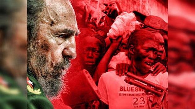 Fidel Castro advirtió de las consecuencias sociales del seísmo de Haití