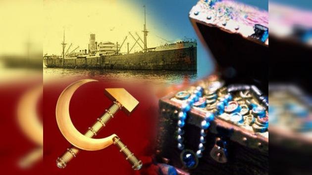 Hallan un buque con platino de la URSS por valor de 3.000 millones de dólares
