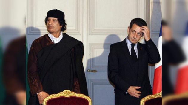 Revelan que Gaddafi invirtió 50 millones de euros en la campaña de Sarkozy