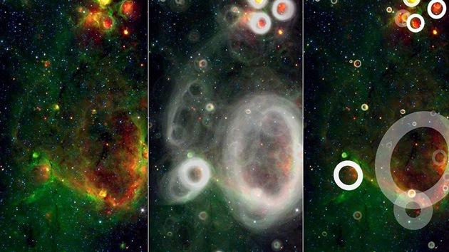 Captan los 'fuegos artificiales' del Big Bang