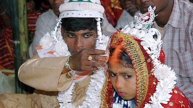 Unicef: Un tercio de las jóvenes del mundo se casaron siendo niñas