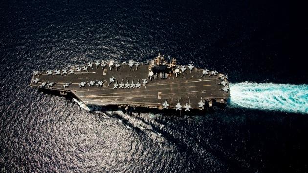 ¿Para qué construye Irán una maqueta gigante de un portaviones de EE.UU.?