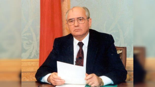 20 años de la dimisión de Gorbachov, el primer y último presidente de la URSS