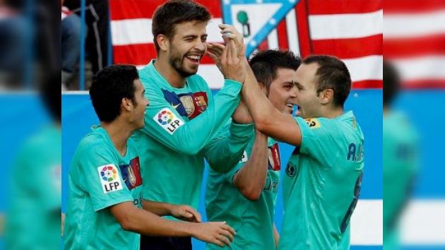 Barcelona pone fin a la maldición del Vicente Calderón