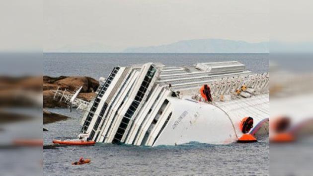 Empiezan a extraer el combustible del 'Costa Concordia'