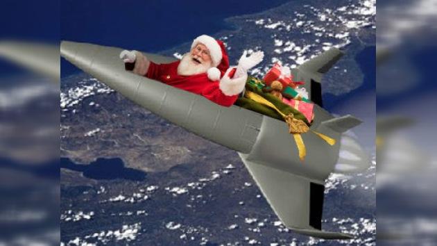 Físicos alemanes han calculado la velocidad de Papá Noel