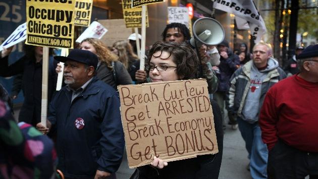 Clausuran los expedientes de los manifestantes arrestados de Ocupa Chicago