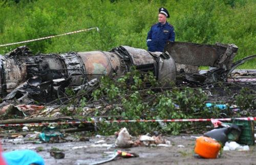 Una tragedia aérea en Rusia deja más de 40 muertos