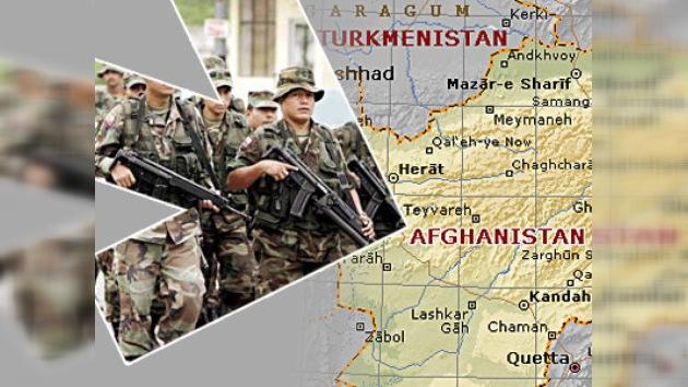 Colombia envia sus militares a Afganistán