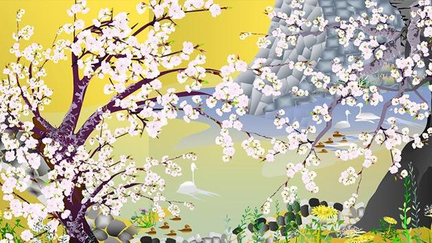 Un jubilado japonés crea hermosas obras de arte con el software Excel