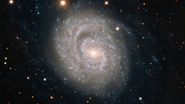 Video: ESO muestra una galaxia espiral con supernova