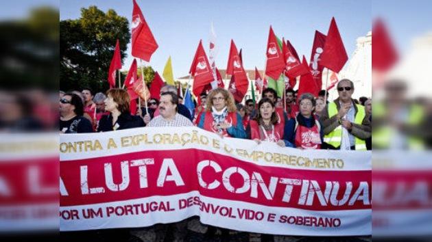 Portugal se paraliza con la huelga general y España ya se prepara