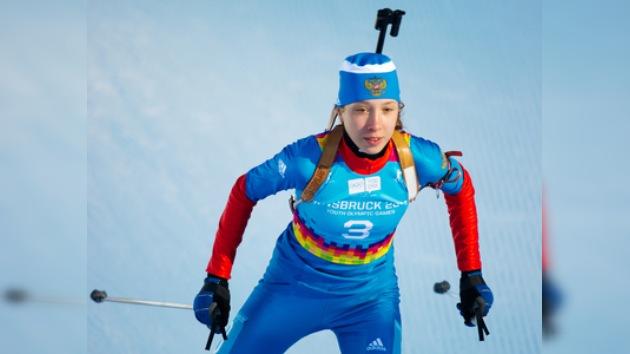 Olimpiadas Juveniles de Invierno: Káisheva obtiene el primer oro para Rusia en biatlón