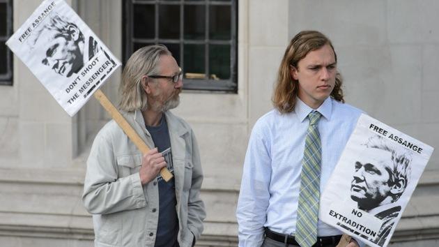 Manifestaciones en todo el mundo en apoyo a Assange