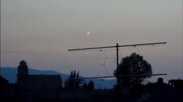 Video: Observan un posible meteorito minutos antes del sismo de México