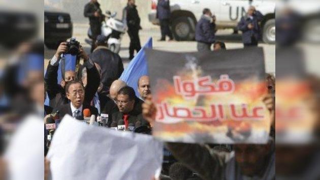 Los palestinos piden excusas a Ban Ki-moon por el ataque contra su convoy en Gaza