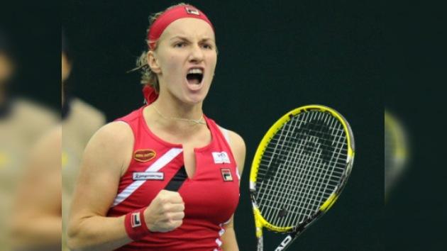 Kuznetsova y Pervak arrancan con victorias en la Copa Kremlin