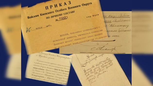 EE. UU. devuelve a Rusia unos 20 documentos históricos robados