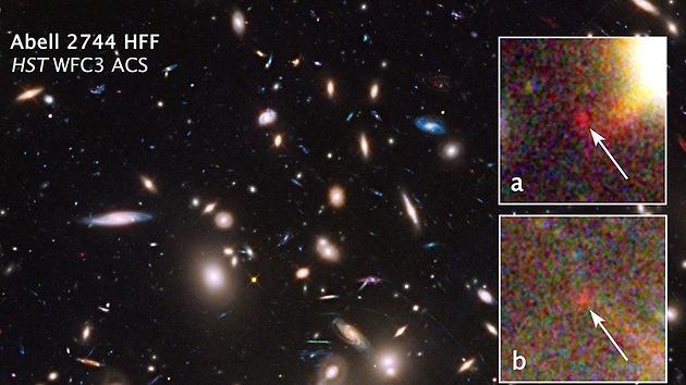 El telescopio Hubble de la NASA detecta una de las galaxias más remotas