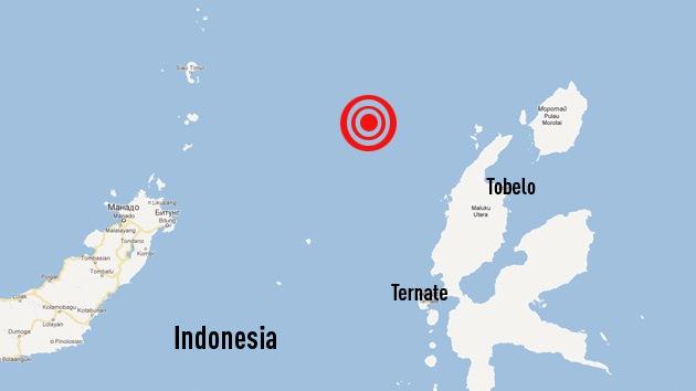 Un sismo de 6,4 grados sacude las islas Molucas de Indonesia