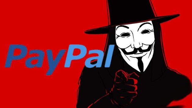 Los ataques de Anonymous le han costado 4,3 millones de euros a PayPal
