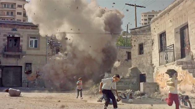 Conmovedor video reclama una intervención de la ONU en Siria para salvar vidas de niños