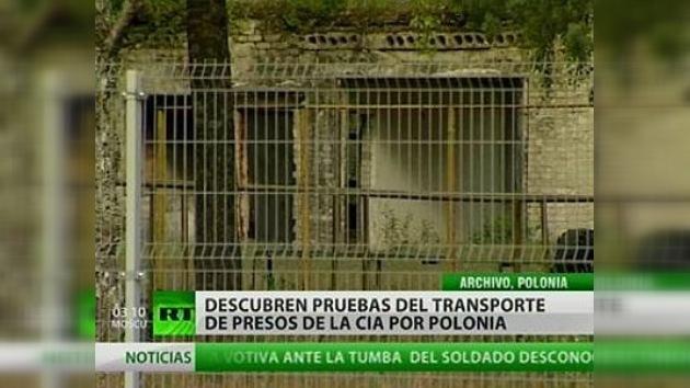 Descubren pruebas del transporte de presos de la CIA a través de Polonia