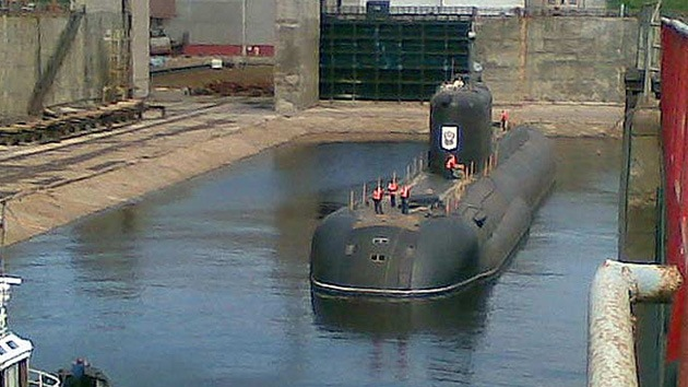 Rusia prueba un nuevo submarino secreto propulsado por hidrógeno
