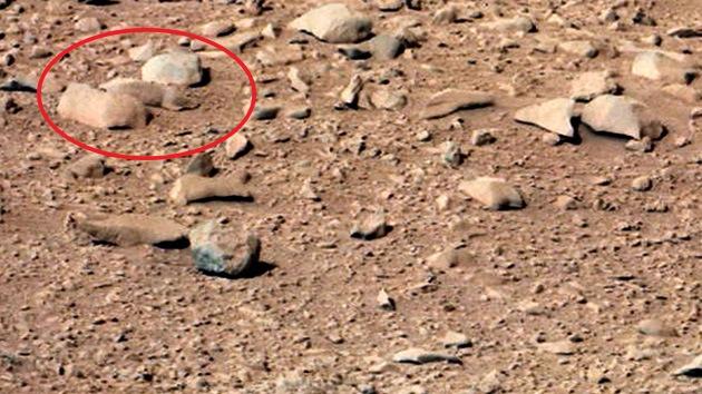 El Curiosity descubre una rata en Marte, ¿otro caso de pareidolia?