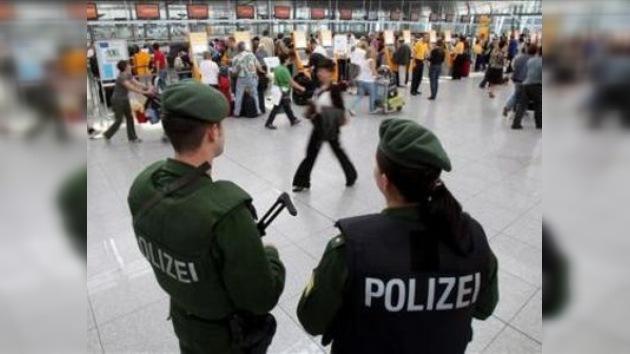 Cierran una terminal del aeropuerto de Múnich por alerta de explosivos