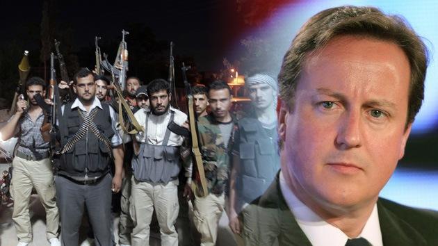 El Reino Unido desea levantar el embargo de armas para los rebeldes sirios