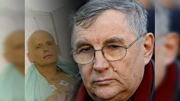 El padre de Litvinenko revela el nombre del supuesto asesino de su hijo
