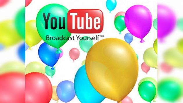 Youtube celebra su quinto cumpleaños