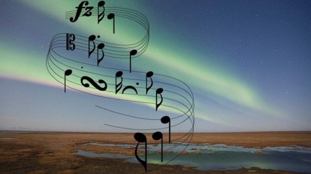 VIDEO: ¿Cómo suena una aurora boreal?