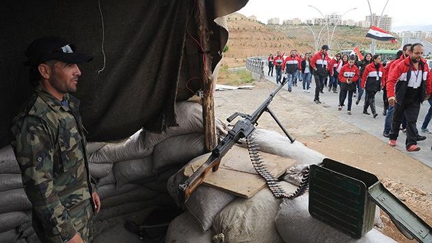 Siria: Los rumores sobre armas químicas se deben a los avances del Ejército