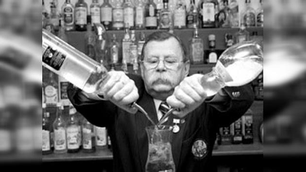 La historia del primer barman ruso