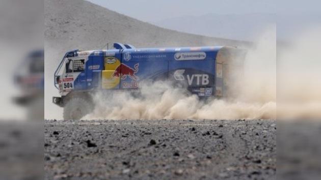 Una baja más en Kamaz Master para el Dakar 2012