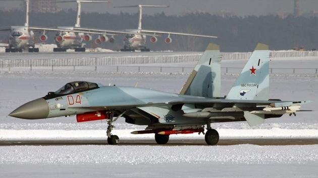 Cazas Su-35S reforzarán la Fuerza Aérea rusa mientras se aguarda a los T-50
