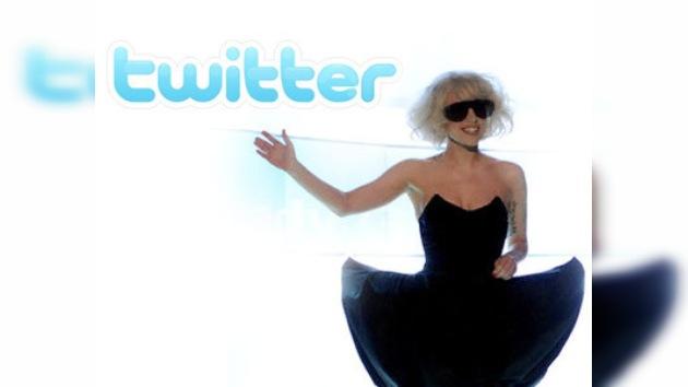 Lady Gaga: nueva reina de Twitter