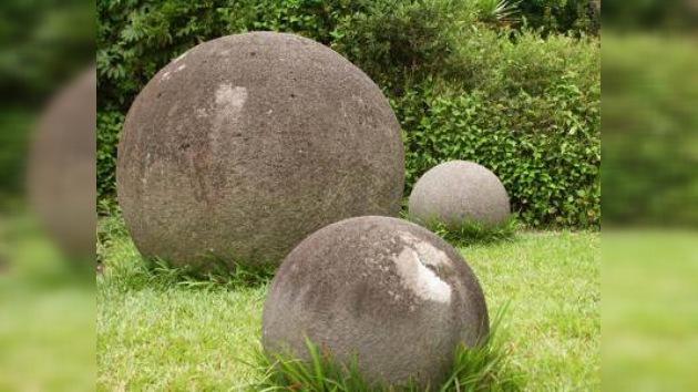 Investigan las misteriosas esferas de piedra de Costa Rica