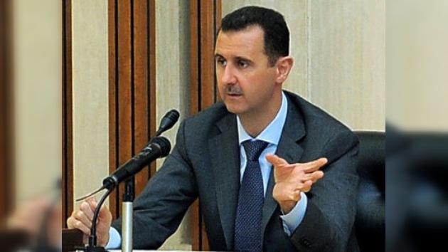 El líder sirio confirma a la ONU el cese de la operación militar en el país