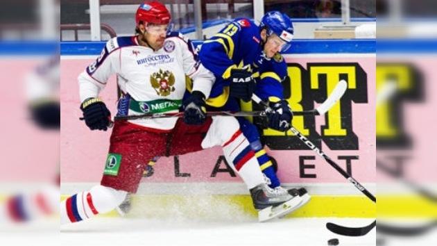 Rusia vence a Suecia y reconquista el título del Euro Hockey Tour