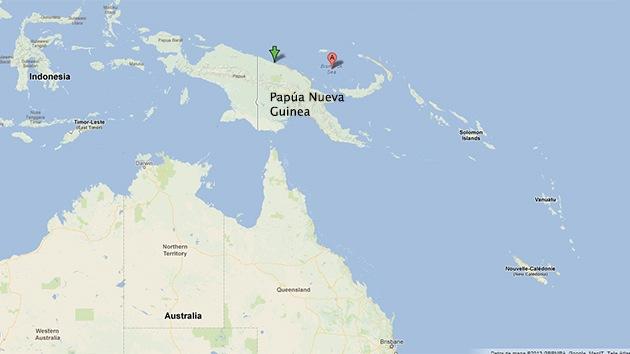 Un sismo de magnitud 6,8 sacude Papúa Nueva Guinea