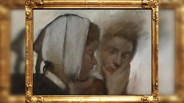 Encuentran en una subasta un cuadro de Degas robado hace 40 años
