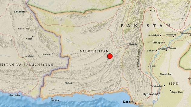 Pakistán: Un terremoto de 6,8, el segundo en cuatro días, deja 12 muertos
