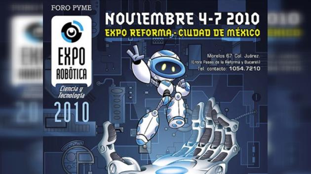 Robots compiten en luchas y carreras en México