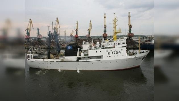 La nave Atlántida regresa de la expedición al Sureste Pacífico